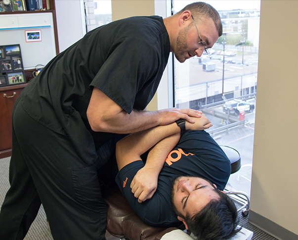 Chiropractic care treatment